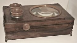 Antique Victorian Stereoscope And Postcard Viewer-very Rare