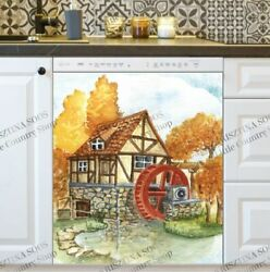 Kitchen Dishwasher Magnet - The Rustic Old Mill