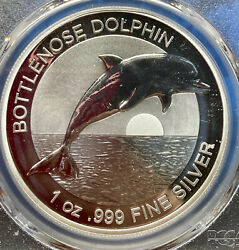 2019 1 Australia Bottlenose Dolphin Pcgs Ms70 Perfection First Day Of Issue