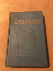 Creation By J.f. Rutherford, Hardcover 1927, 700,000 Printing