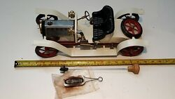 Vintage Mamod Steam Roadster Car Working Model With Original Box 70s