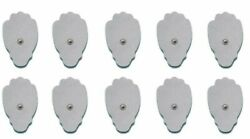 Hidow Tens Unit Replacement Pads - 10 Pack