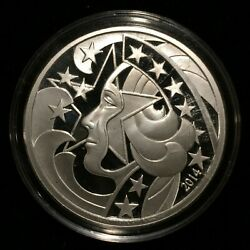2014 Libertyandrsquos Glory Live Free - 1oz Silver Proof Wastweet / Marks - Only 200