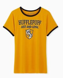 Torrid Harry Potter Hufflepuff Classic Fit Ringer Tee Size 5 New With Tags