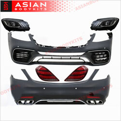 Facelift Kit For Mercedes Benz W222 S Class Amg S63 S550 2013 - 2017