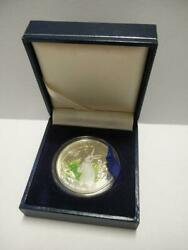 Singapore 925 Silver Proof Coin 1999 Rabbit Bank Of Lao W/ Cert And Box Oc422