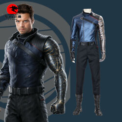 Dfym The Falcon And The Winter Soldier Cosplay Costume Leather Outfit Halloween