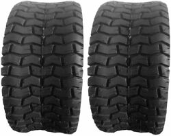 2 Two 18x8.50-8 Lawn Mower Tractor Golf Cart Turf Tires 4pr 18 850 8 Tubeless