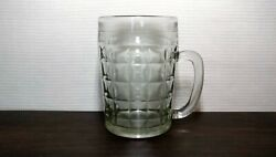 Vintage Beer Mug Glass 0,5l Cultures And Ethnicities Soviet Ussr A