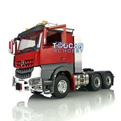 Lesu Metal 66 Chassis Toolbox Light 1/14 Rc Hercules Painted Cab Tractor Truck