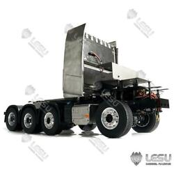 Lesu 88 Metal Chassis Motor For Tamiya Rc Volvo Fh16 1/14 Tractor Truck Trailer