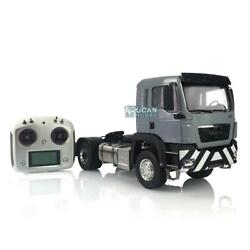 Lesu Man Tgs Rc 1/14 42 Metal Chassis Painted Cabin Radio Light Tractor Truck
