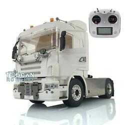 Lesu Sound Hercules Cabin Rc Radio 1/14 Metal 44 Scania Chassis Tractor Truck