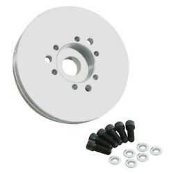 For Gmc G35/g3500 Van 1970-1973 Weiand 7036 Double Groove Accessory Drive Pulley