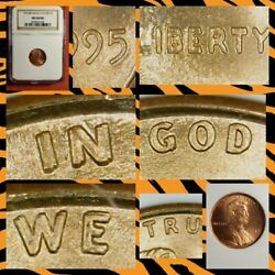 1995 Lincoln Cent Double Die Obverse Ngc Ms68rd Gem Bu Ddo Full Red Beauty T195