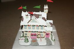"""""""hawthorne Village"""" - Santa And Mrs Claus's Castle - Rudolph's Christmas Town"""