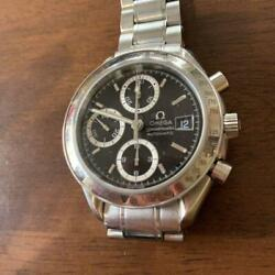 Omega Chronograph Speedmaster Watch Japan Limited Model Menand039s Watch Black Silver