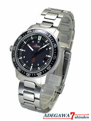 Sinn 603 Ezm3 Stainless Automatic Divers 50bar Menand039s Watch Black Silver Swiss