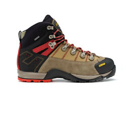 Asolo Mens Fugitive Gore-tex Walking Boots Black Brown Sports Outdoors