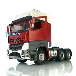 Lesu Metal 66 Chassis Motor Painted Hercules Actros Cabin Rc 1/14 Tractor Truck
