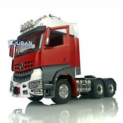 Lesu 1/14 Metal Chassis Light Painted Hercules Actros Cabin 66 Rc Tractor Truck