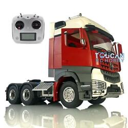 Lesu Rc Metal Chassis Radio Painted Hercules Actros Cabin 1/14 66 Tractor Truck