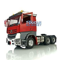 Lesu Chassis Warning Light Hercules Painted Cab 1/14 Rc Metal 66 Tractor Truck