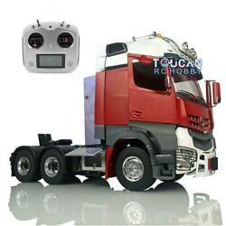 Lesu Tractor Truck Rc Light Radio Hercules Painted Cabin 1/14 Metal 66 Chassis