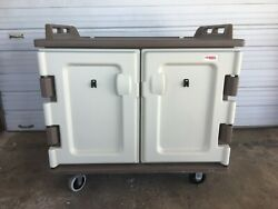 Cambro Mdc1418s20194 Meal Delivery Cart 2-comp. 20 Tray