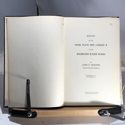 1913 Report On The Sewage Disposal System Of Rochester N.y. - George Whipple