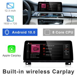 12.3 Android 10 Car Gps Video Player Wifi Carplay For Bmw 7 Series F01 F02 Nbt