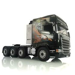 Lesu Scania R730 Hercules Cabin Metal Chassis 88 1/14 Rc Tractor Truck Gripen