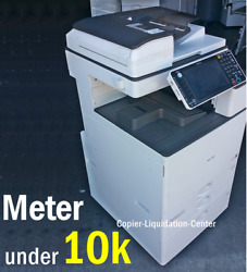Ricoh Mpc3003 Mp C3003 Color Network Copier Print Fax Scan To Email 30 Ppm Frt
