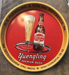 D G Yuengling And Son Premium Beer Tray Pottsville Pa Ale Porter Nos