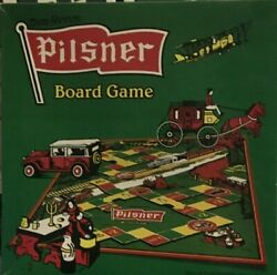 Old Style Pilsner Board Game Open Box Sealed Cards All Items Unused