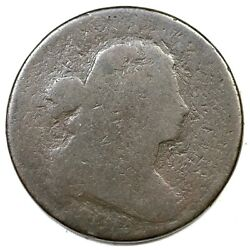1800/79 Nc-2 R-6 Draped Bust Large Cent Coin 1c
