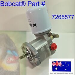 Bobcat Cooling Fan Drive Hydraulic Motor Filter Valve And Coil Assembly 7265577