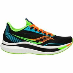 Mens Saucony Endorphin Pro Running Shoes - Black 0