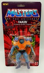 Masters Of The Universe Vintage Motu Custom Card And Bubble Faker Fakor