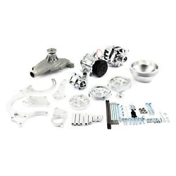 For Chevy Corvette 70-74 Pce Serpentine Complete Engine Pulley And Components Kit