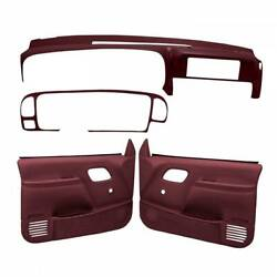 Coverlay 18-798c59n Maroon Interior Combo Kit Manual Lock And Window Only