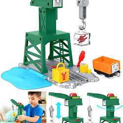 Thomas And Friends Trackmaster Cranky The Crane Playset For Preschool Kids Ag...