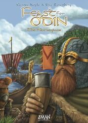 A Feast For Odin The Norwegians - Board Game - Z-man Games Sealed Nib
