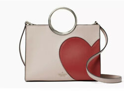 Kate Spade Heart It SAM BagNWT Red HEART Leather Valentine 25th Anniversary $400.00