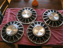 1968 Ford Mustang Hubcaps Wheel Covers Set Of 4 14 Inch