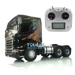Lesu Light Sound Scania Rc Gripen 1/14 Tractor Truck Radio Rc 64 Metal Chassis