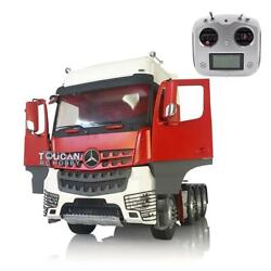 Lesu Sound Hercules Actros 3363 Cabin Rc 1/14 Tractor Truck Radio Metal Chassis