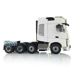 Lesu Metal 1/14 Rc Truck Chassis Benz Hercules Tractor Cab Light Air Conditioner