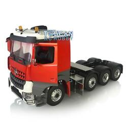 Lesu Metal Chassis 3speed Motor 1/14 Hercules Paint Benz Cabin Rc Tractor Truck
