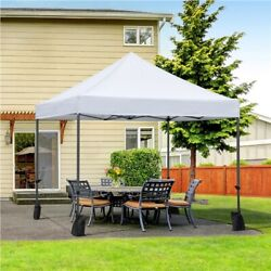 10and039x10and039 Commercial Pop Up Tent Canopy Waterproof Party Wedding Patio Gazebo